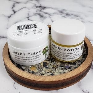Farmacy Cleansing Balm & Honey Potion Mask